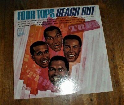 "FOUR TOPS Orig 1967 ""Reach Out"" LP w Bernadette MONO SEALED NM"