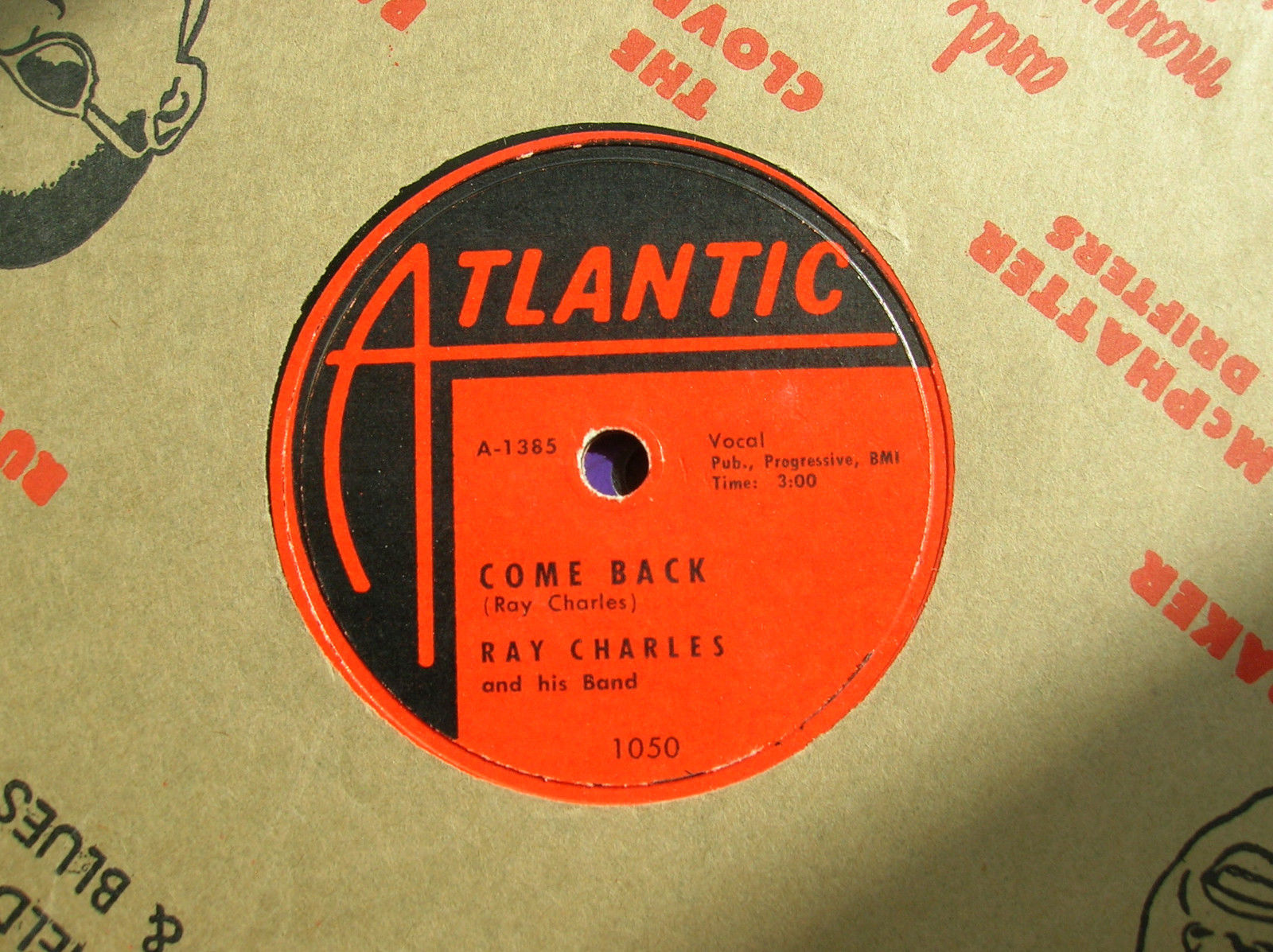 78rpm- Rock 'n roll- doo wop- Ray Charles- I've Got a Woman