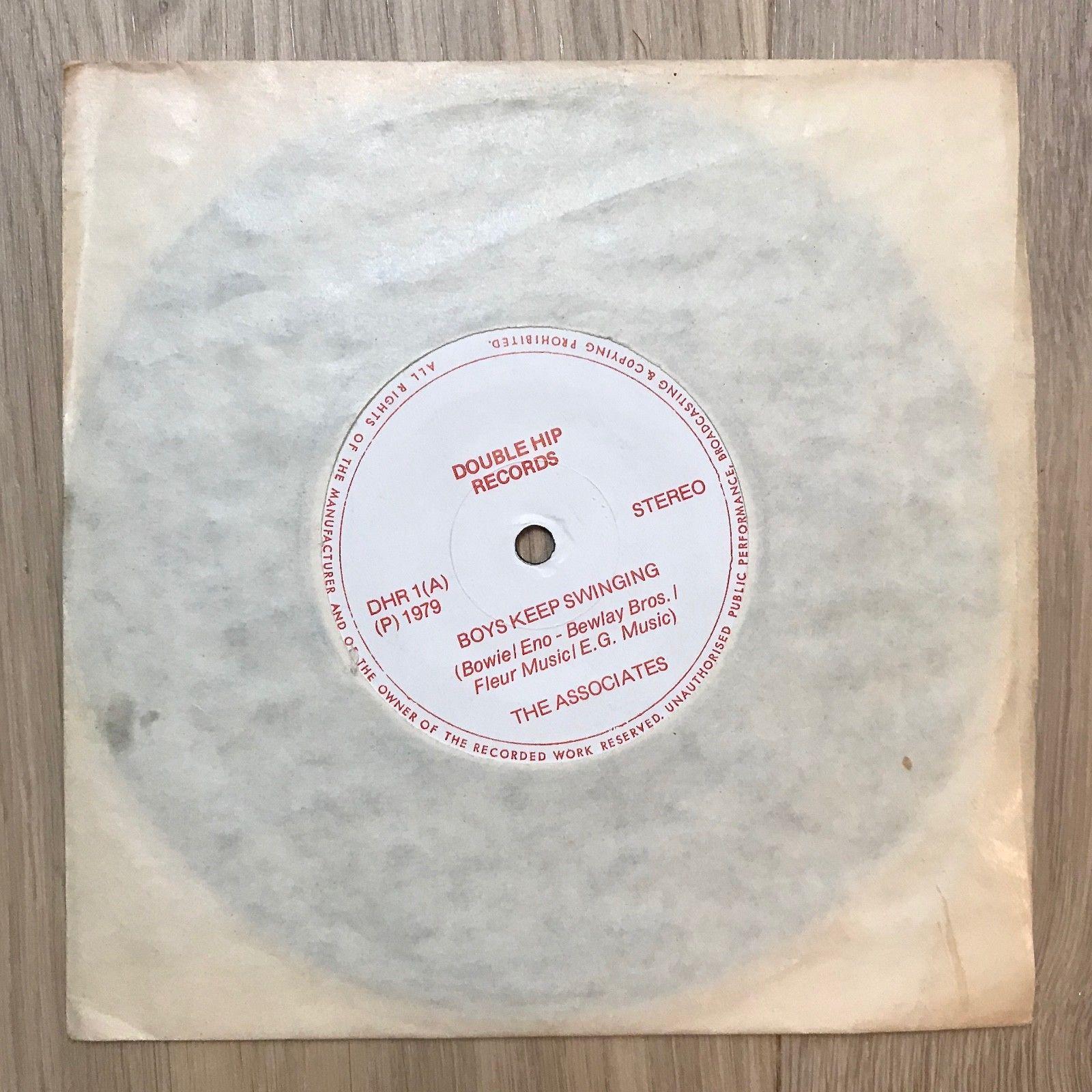 """The Associates 7"""" single """"Boys Keep Swinging"""" written by David Bowie."""