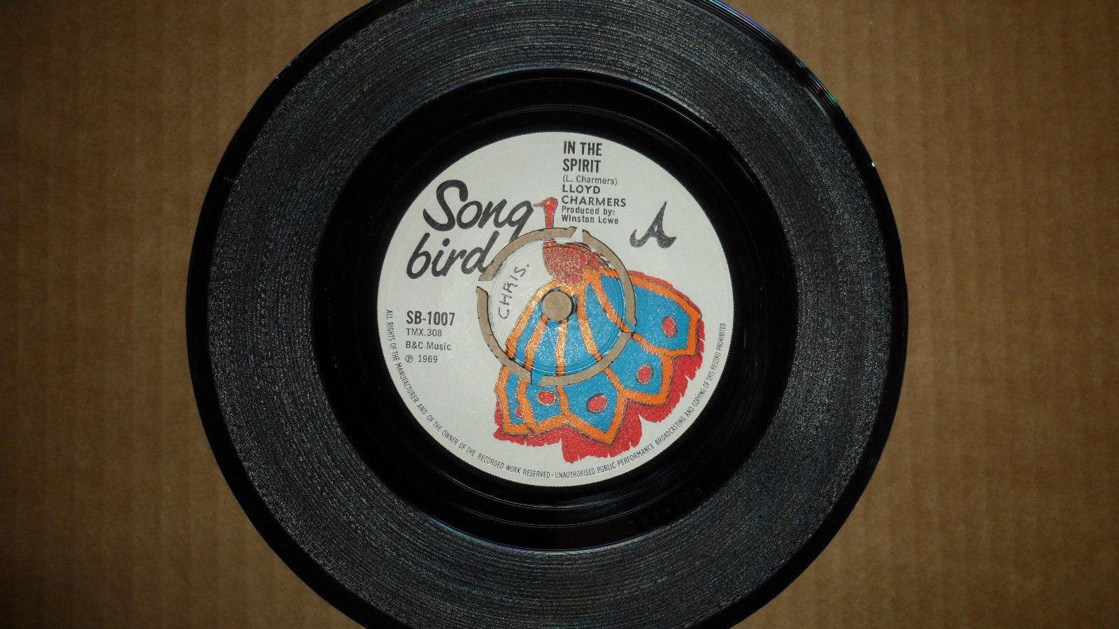 LLOYD CHARMERS 'IN THE SPIRIT / DUCKEY LUCKEY' SB 1007 SONG BIRD 1969 UK ISSUE