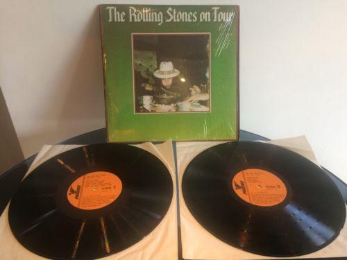 ROLLING STONES ON TOUR  VINYL X2 LP Mint Unplayed Shrink wrap 1979