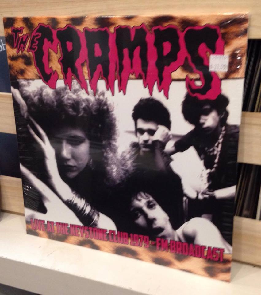 VINYL The Cramps Live At The Keystone Club 1979 FM Broadcast  LP punk