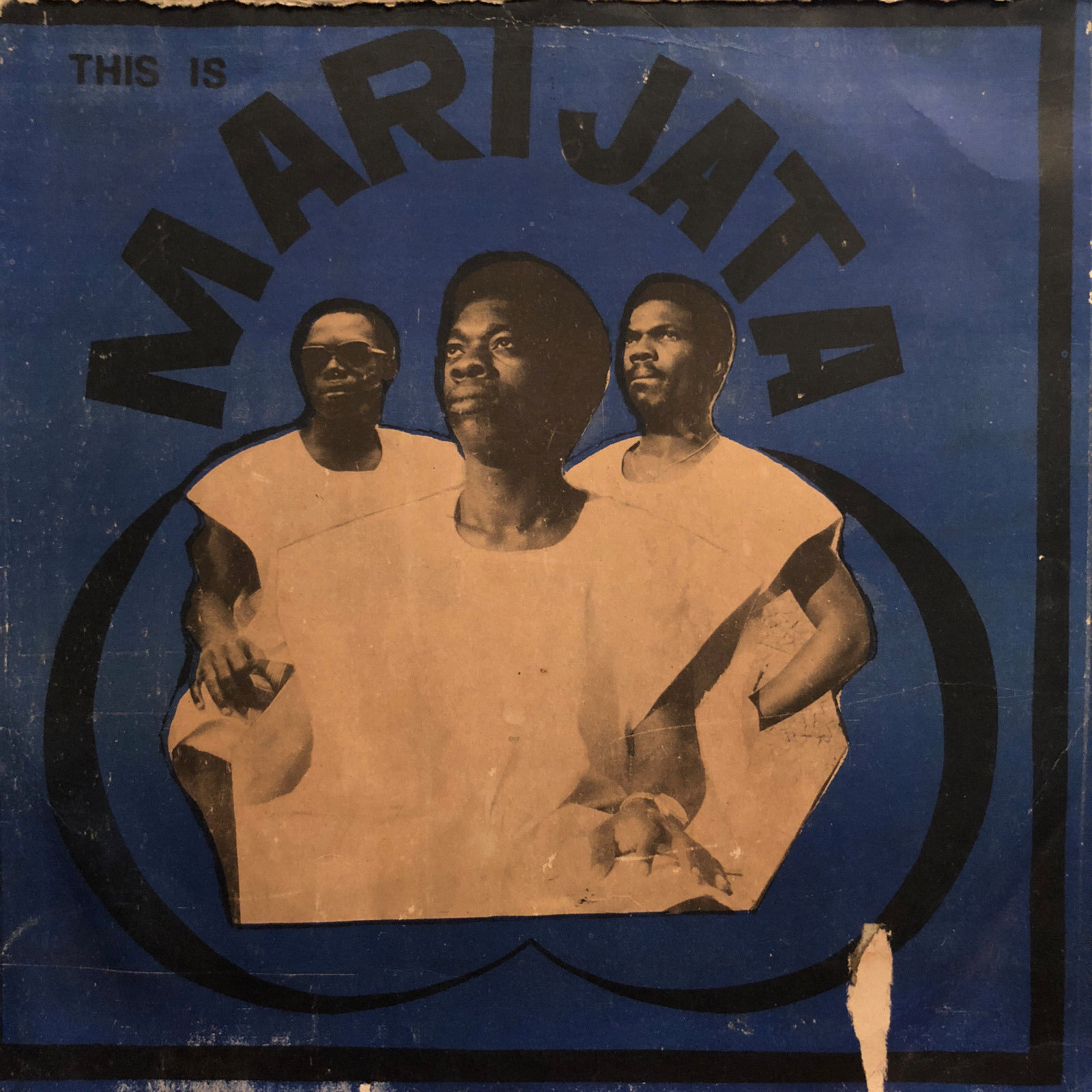 MARIJATA - THIS IS LP Afro Funk Gapophone Ghana ORIGINAL