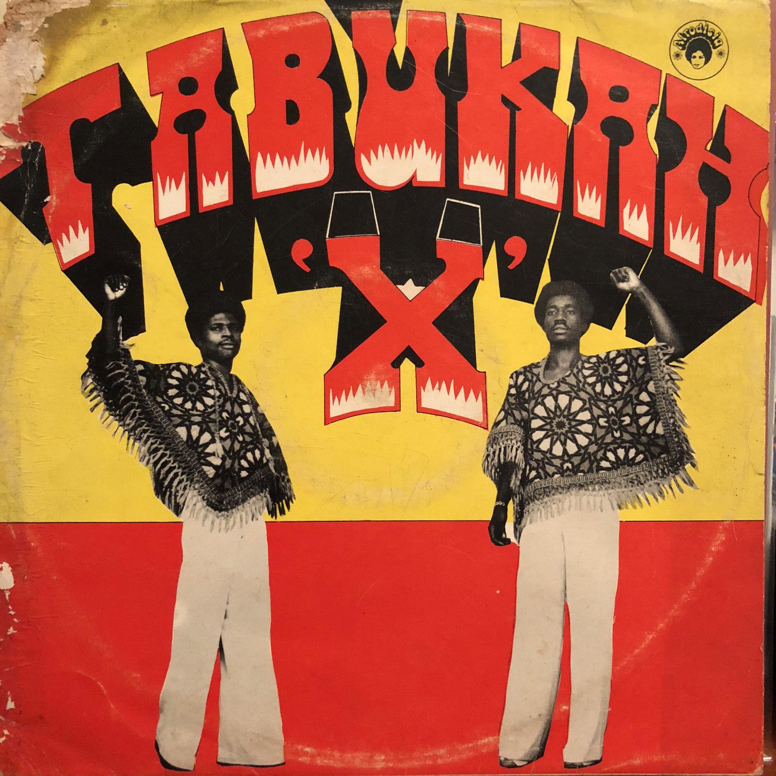 TABUKAH X LP Afro Funk Rock Psych Afrodisia Nigeria ORIGINAL GRAIL