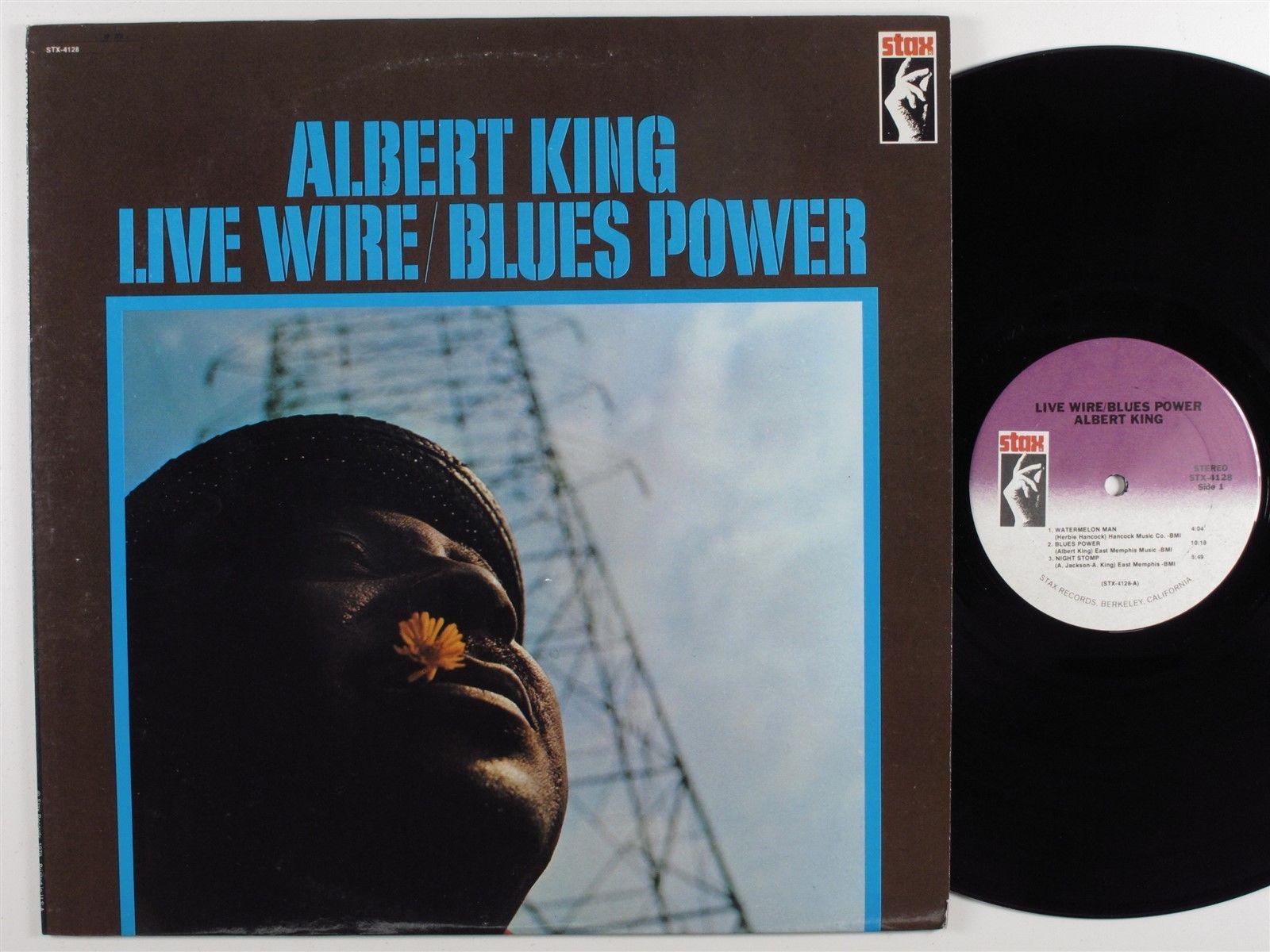 ALBERT KING Live Wire/Blues Power STAX LP NM
