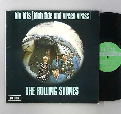 """Rolling Stones - Big Hits (High Tide...) - EX/EX - UK 12"""" Vinyl - TXS 101"""