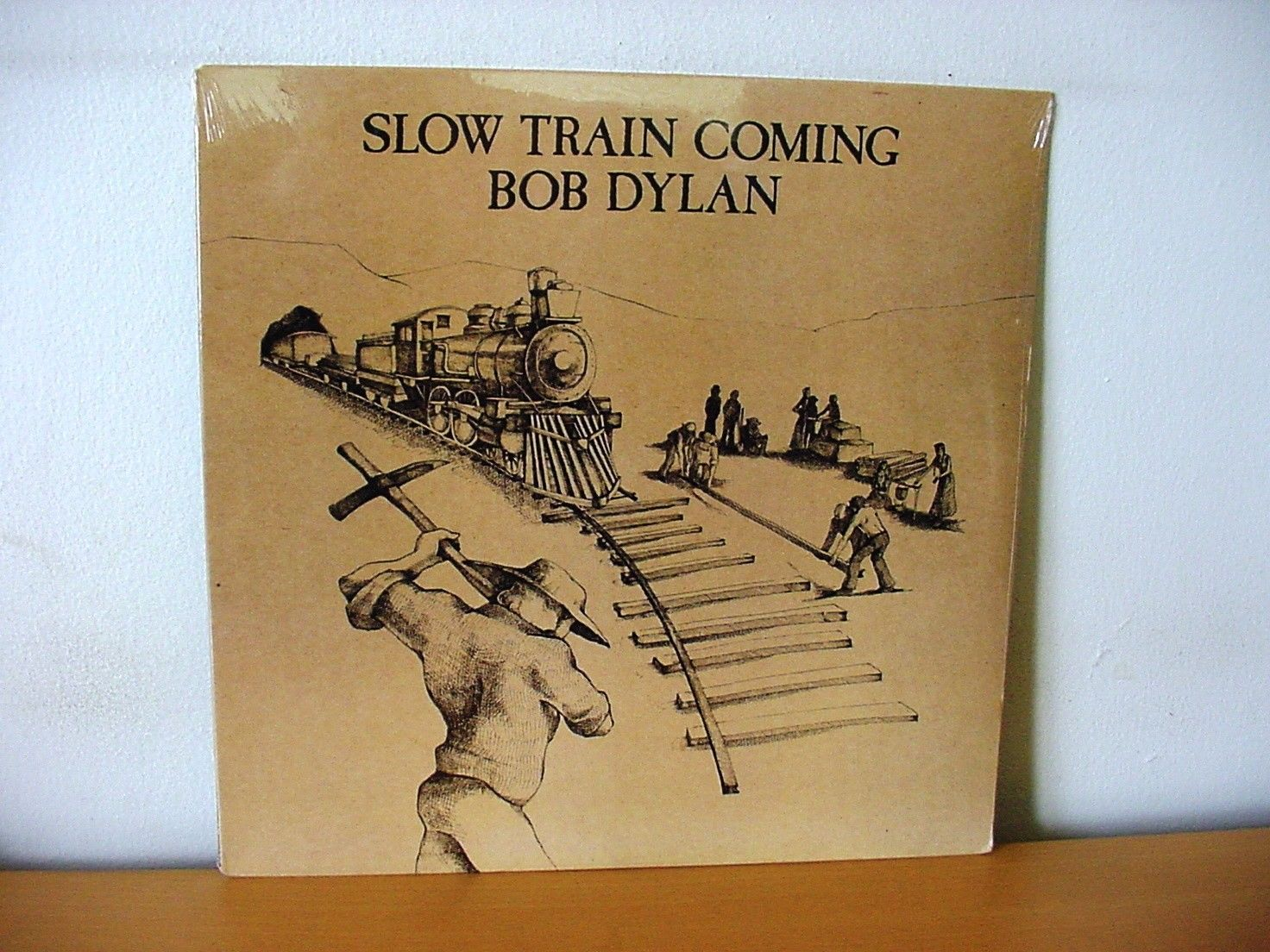 "BOB DYLAN ""Slow Train Coming"" Original SEALED LP from 1979 (COLUMBIA PC 36120)."