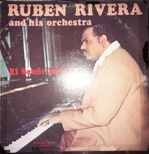 RUBEN RIVERA AND HIS ORCHESTRA - EL SEÑOR DEL SABOR LP Salsa Guaguanco