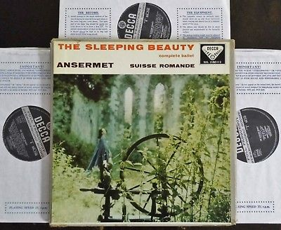 Tchaikovsky: The Sleeping Beauty - Ansermet **Decca SXL 2160-2 WBg ED1 3LP**