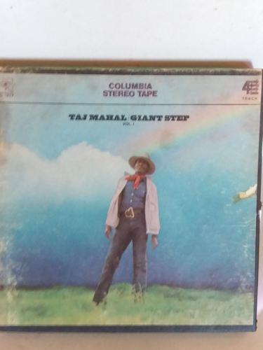 Vintage Reel to Reel Tape TAJ MAHAL GIANT STEP Vol.1 4Track 3-3/4 IPS