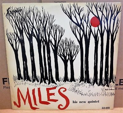 THE NEW MILES DAVIS QUINTET SELF TITLED OG UK ESQUIRE LP 32-021