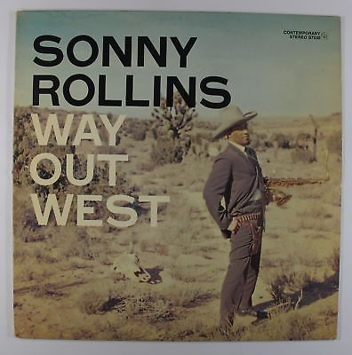 Sonny Rollins - Way Out West LP - Contemporary - S7530 Stereo