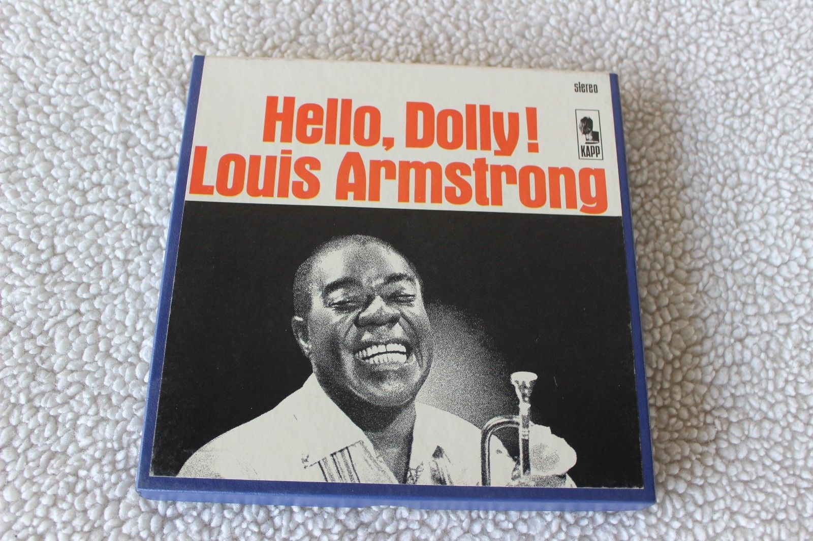 LOUIS ARMSTRONG-4 TRK STEREO 7 ½ IPS REEL TO REEL TAPEHELLO, DOLLY
