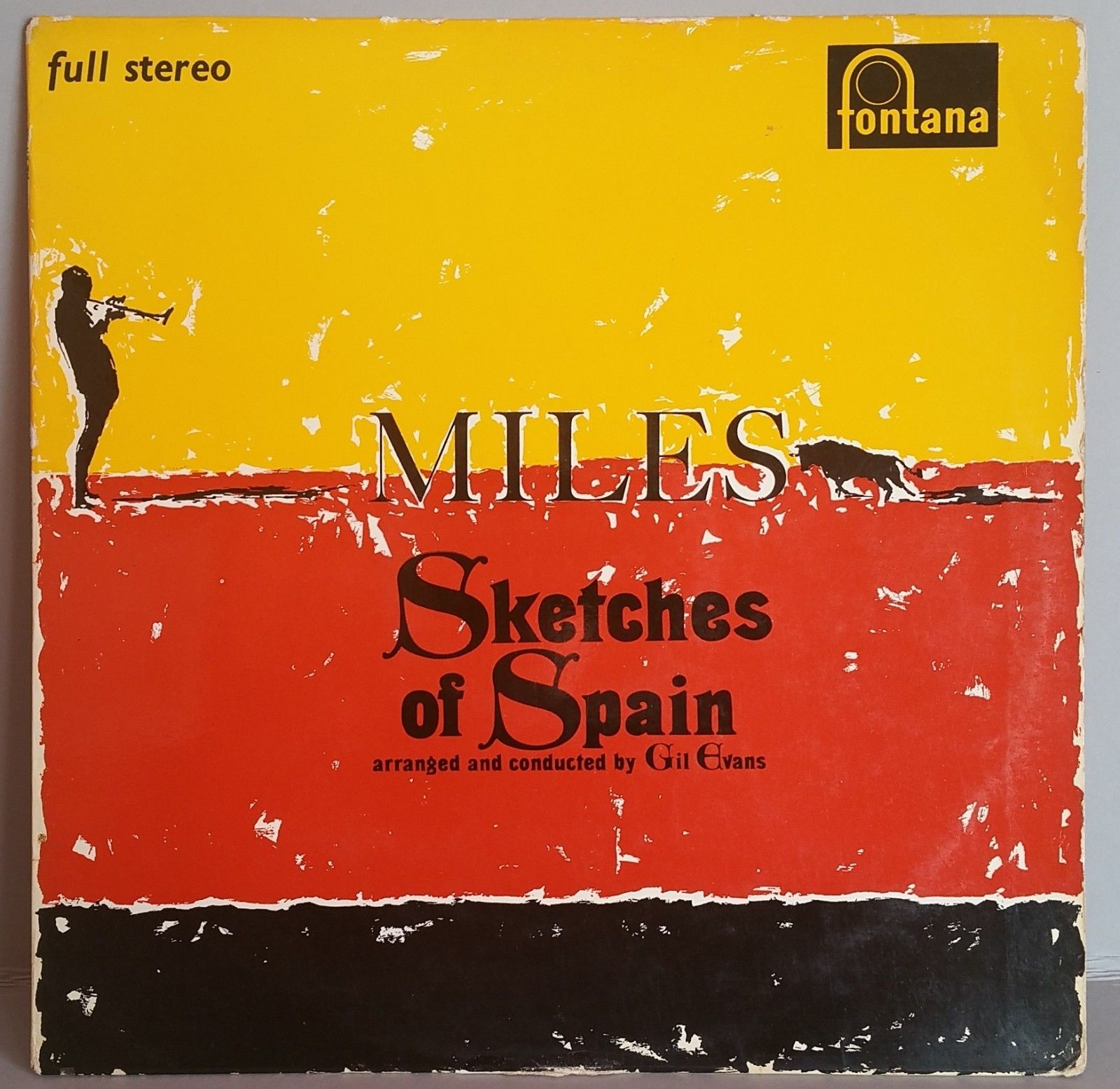 MILES DAVIS,Sketches Of Spain, First UK Fontana LP, 1960, FULL STEREO