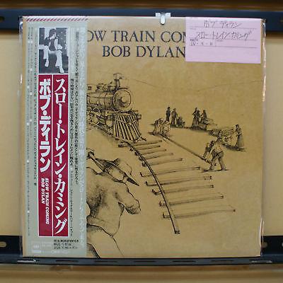 Vinyl LP Records 25AP_1610 Bob Dylan - Slow Train Coming w/OBI
