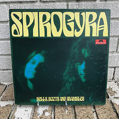 SPIROGYRA BELLS BOOTS AND SHAMBLES LP POLYDOR 2310 246 ORIGINAL ROCK FOLK Psych