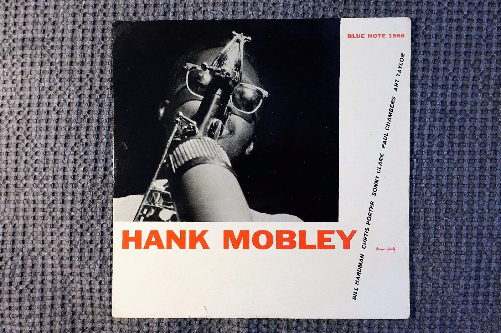 HANK MOBLEY ' SELF TITLE'   1ST PRESS.    BLP 1568.    'NYC' ON BOTH SIDE