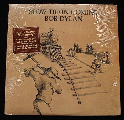 BOB DYLAN Slow Train Coming US Columbia 1st pressing LP *MINT-* Shrink Superb