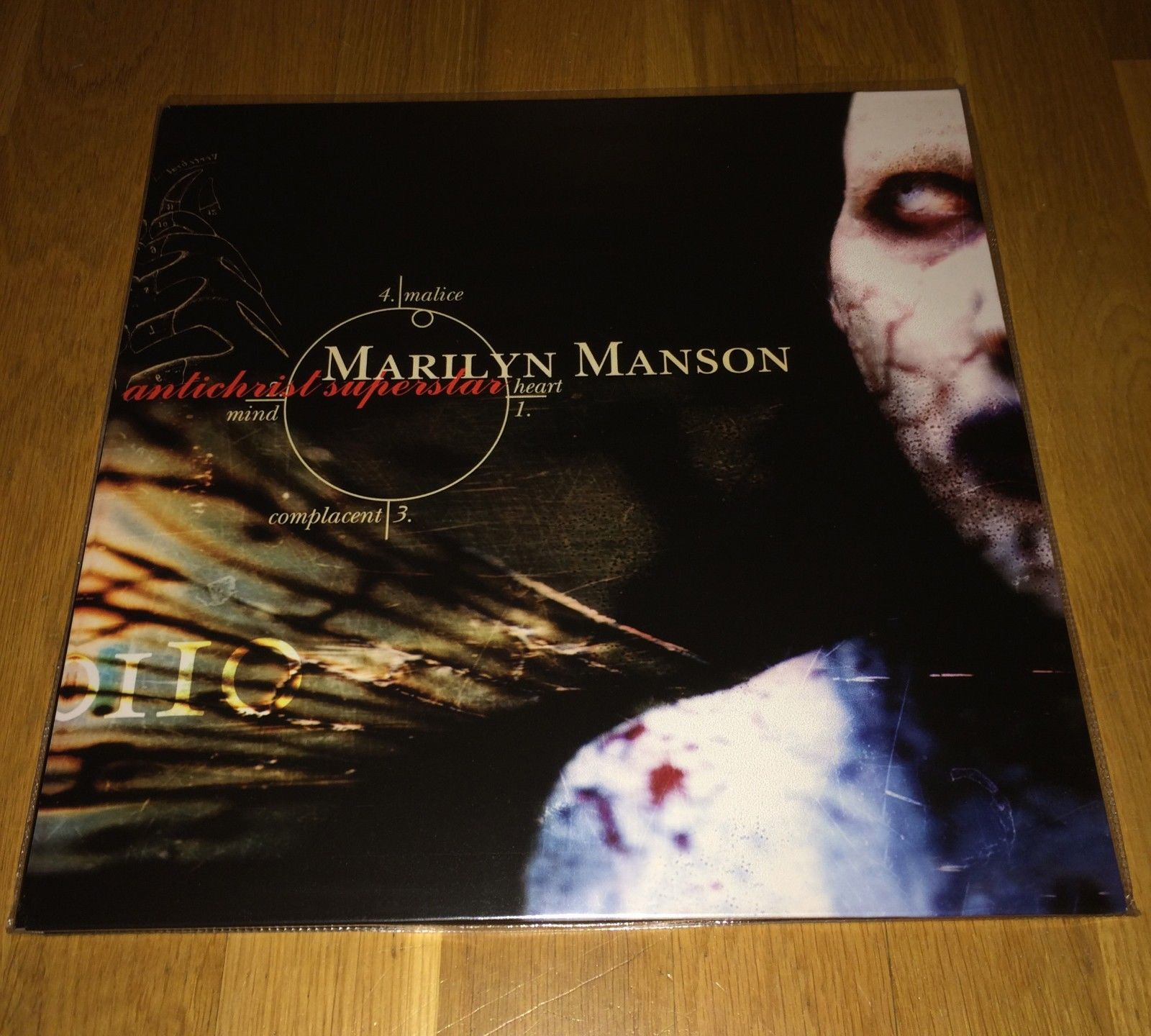 Marilyn Manson - Antichrist Superstar Vinyl OOP RARE