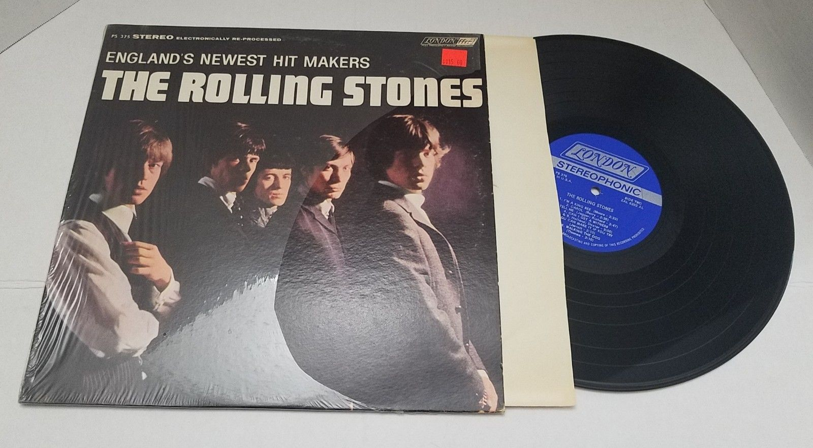 The Rolling Stones - England's Newest Hit Makers Vinyl LP London PS 375 Shrink