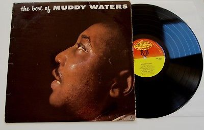 THE BEST OF MUDDY WATERS LP VINYL Rare 1964 UK 1st Press Pye Mono NPL 28040