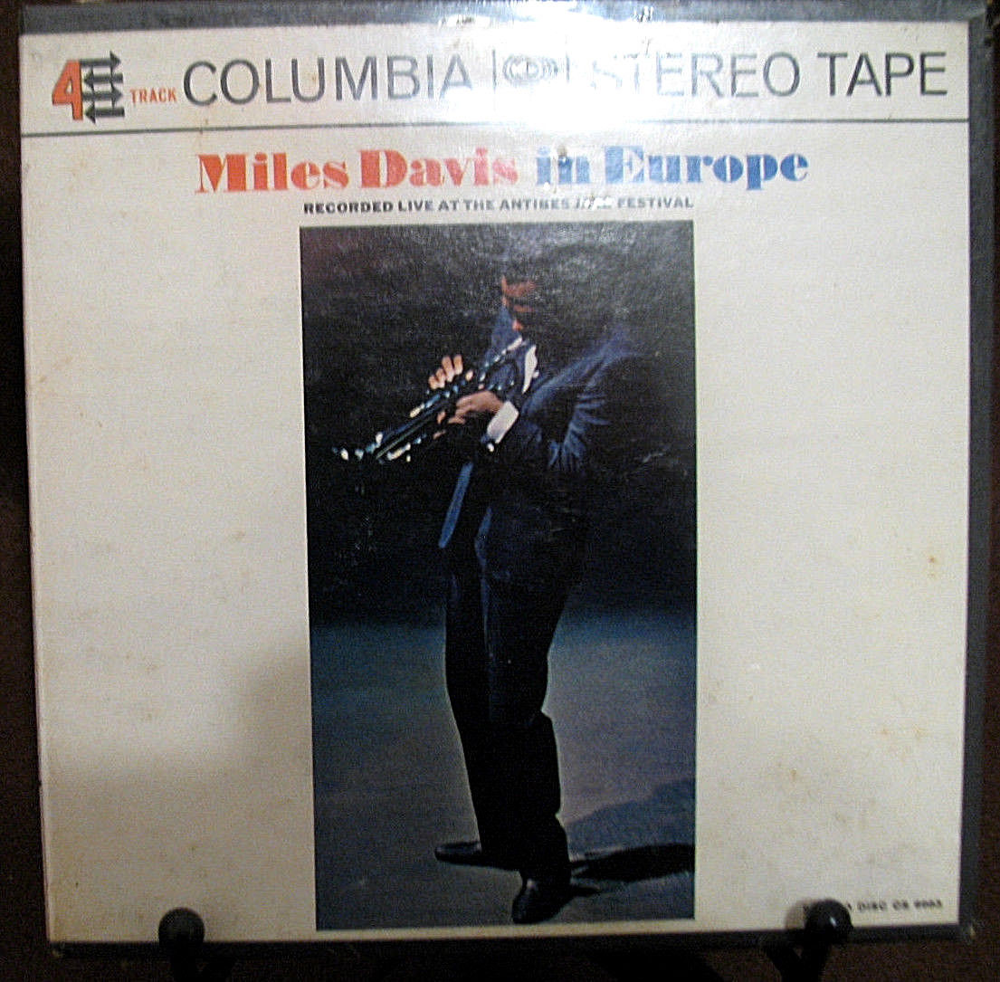 NEW  Reel-To-Reel Tape: Miles Davis In Europe, 4-Track, 7 1/2 IPS, Rare  Sealed