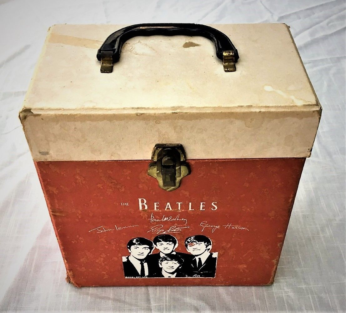 Beatles Vintage 45rpm Record Carrying Case Went to Many 'Sleepovers' With Shelli