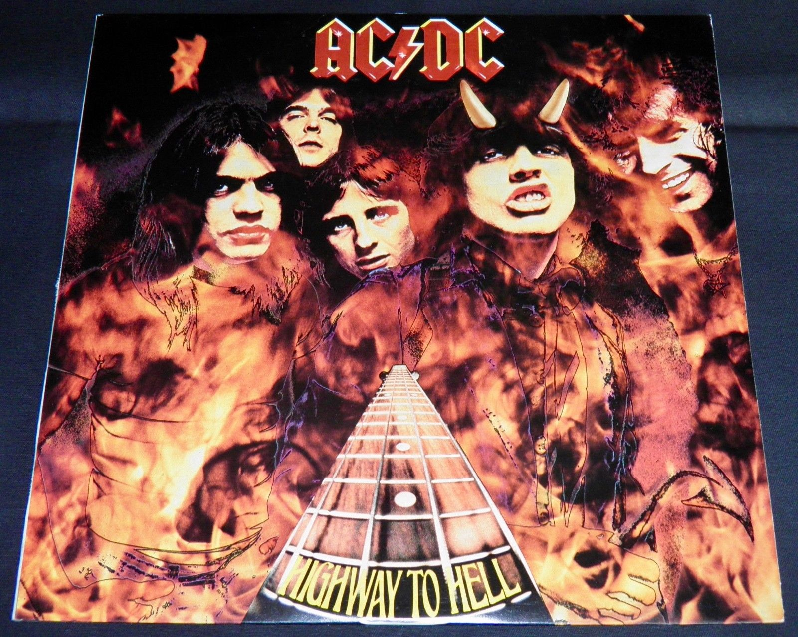 popsike.com - AC/DC - HIGHWAY TO HELL 1979 ALBERT APLP.040 ...