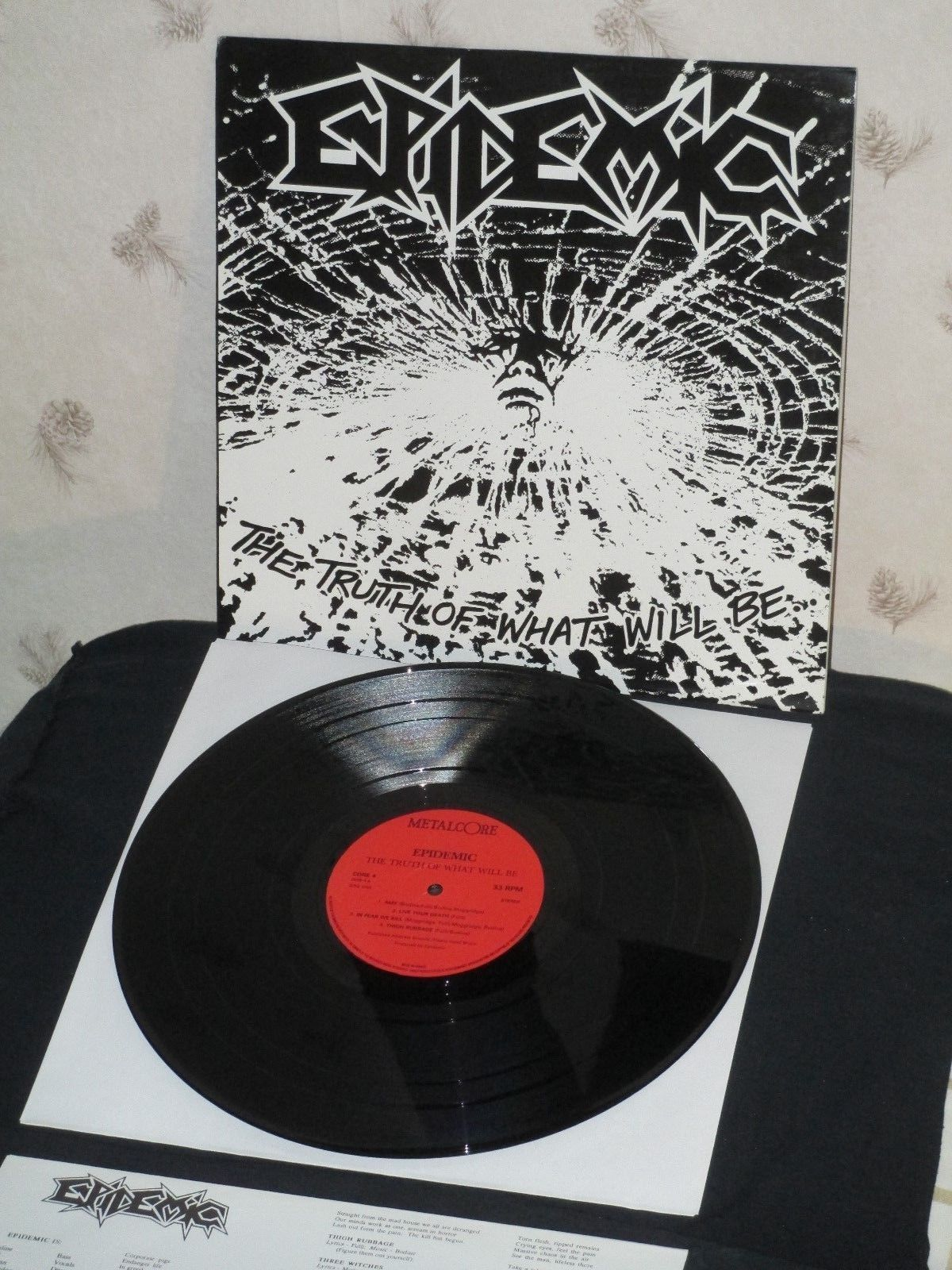 EPIDEMIC Truth of What Will Be import 1st press LP Testament Exodus Vio-lence