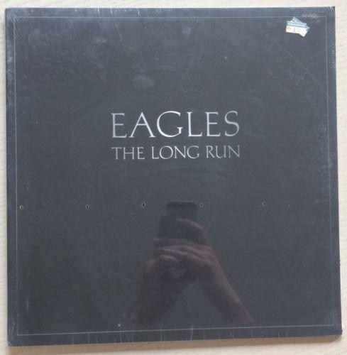 EAGLES The Long Run RARE SEALED LP 1979 USA 1stPRESS NO CUTOUTS OR BARCODE