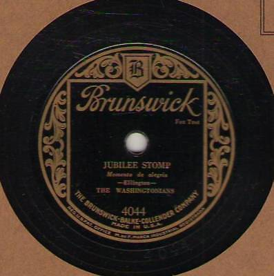 "78 rpm Duke Ellington, Brunswick 4044, E ""Black Beauty"" mispressing Hear"