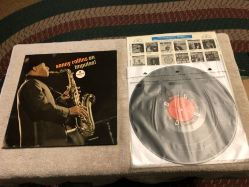 SONNY ROLLINS - ON IMPULSE - IMPULSE A91- MONO / GATEFOLD CVR / Orig 60s LP