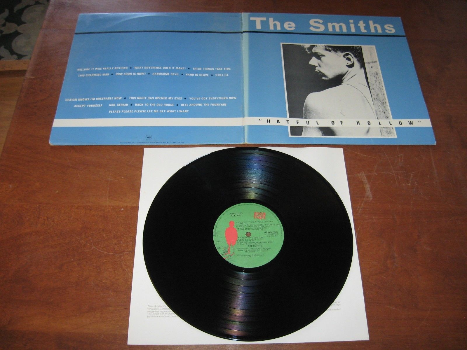 The Smiths RECORD LP Vinyl  Morrissey HATEFUL OF HOLLOW NEW ZEALAND NM