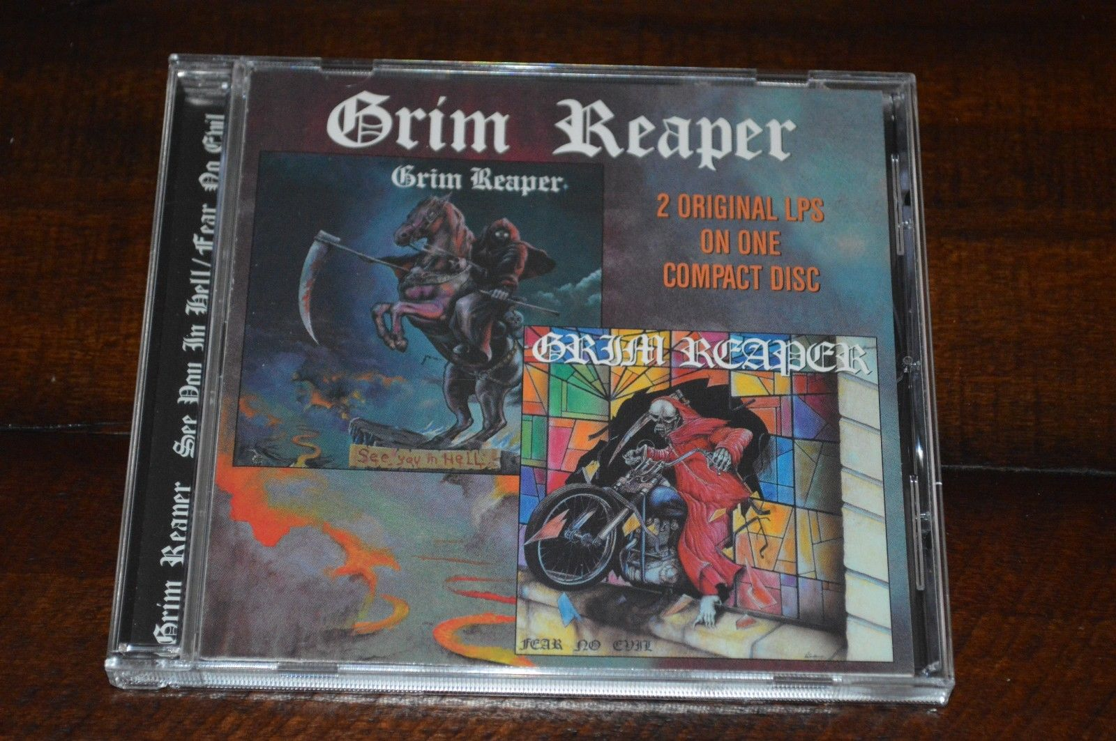 popsike com - GRIM REAPER - See You In Hell / Fear No Evil - CD