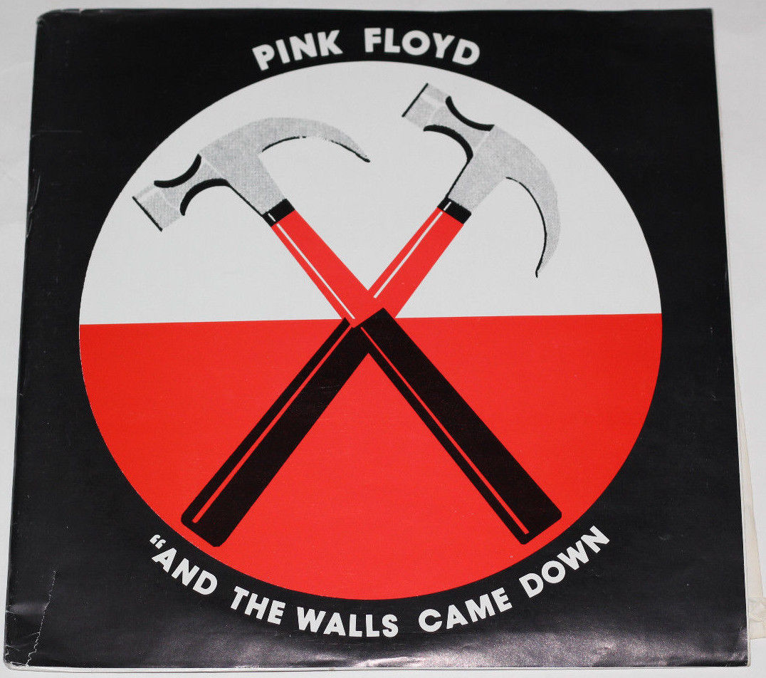 """PINK FLOYD 3-LP   """"And The Walls Came Down"""" 1980 Nassau Colliseum, NY   M- Vinyl"""