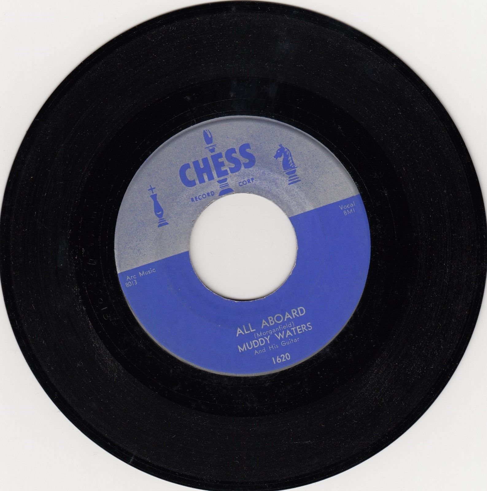 CHESS 1620- MUDDY WATERS-FORTY DAYS & FORTY NIGHTS/ALL ABOARD-CLASSIC BLUES-ORIG