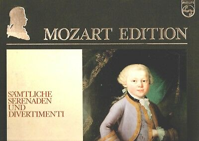 PHILIPS MOZART EDITION - THE SERENADES AND DIVERTIMENTI - 10 LP NM