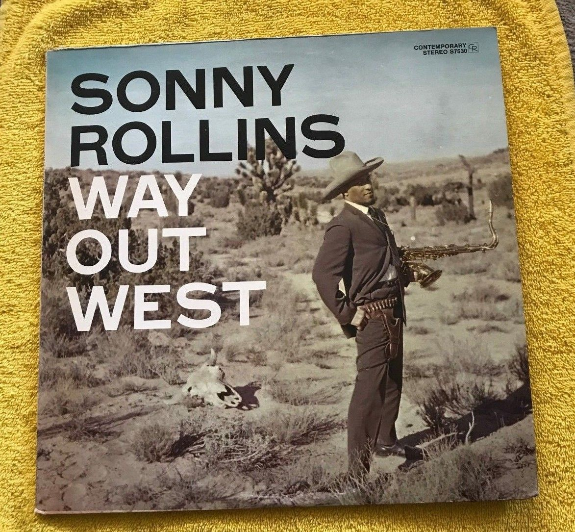 Sonny Rollins - Way Out West LP - Contemporary Records - S7530 Stereo Record