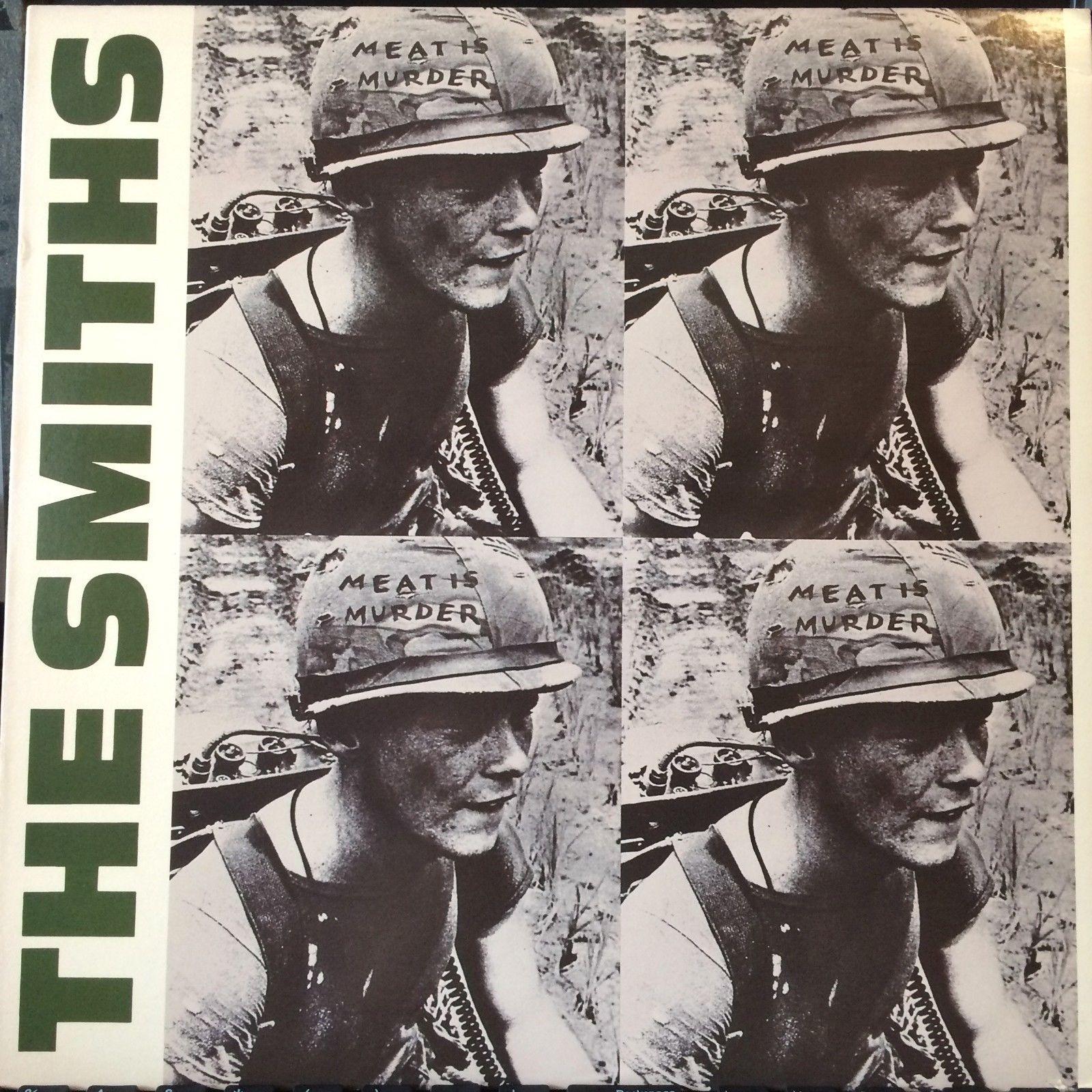 The Smiths - Meat Is Murder LP [Sire 25269-1] ORIGINAL 1985 VINYL PRESSING, NM