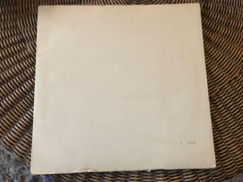 Beatles White Album Numbered #28101 OZ Stereo