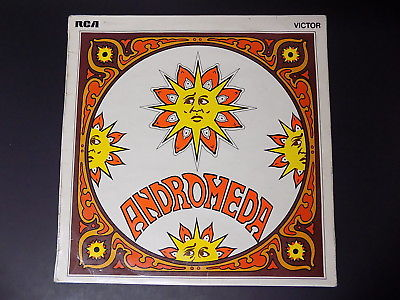 Ultra RARE 1969 UK Monster Psych LP ANDROMEDA S/T RCA Blues Heavy Prog *HEAR*