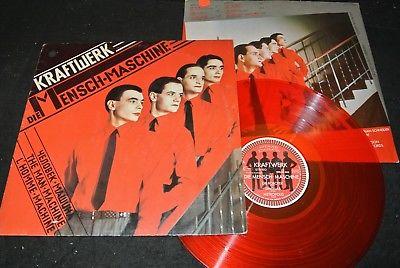 KRAFTWERK Die Mensch Maschine / German red Vinyl LP 1978 KLING KLANG 1C058-32843