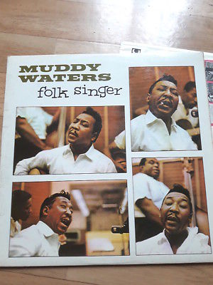 MUDDY WATERS FOLK SINGER NPL 28038 pye international 1964  UK MONO SIGNED VG++