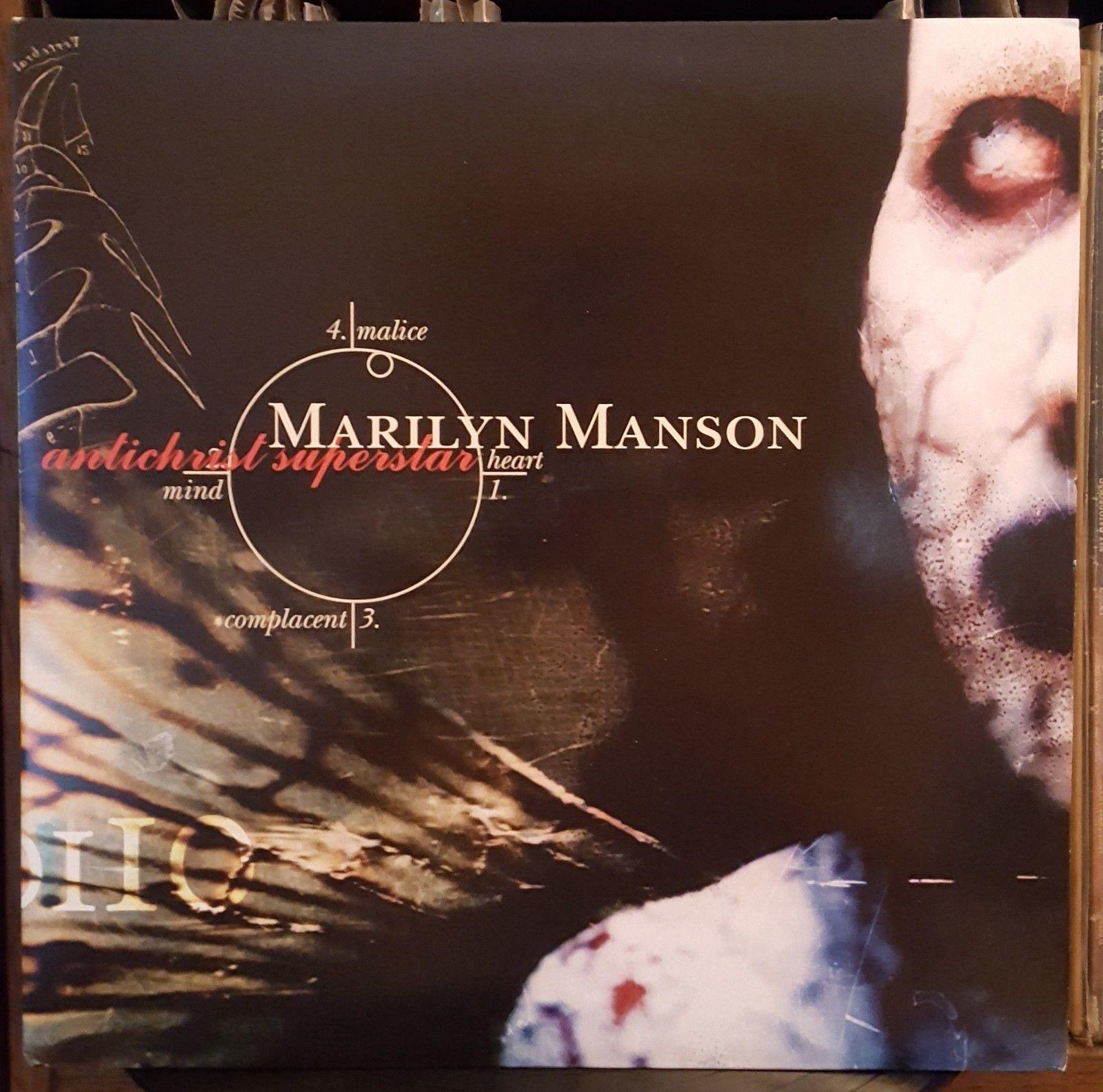 Marilyn Manson Antichrist Superstar Hot Topic Red vinyl Edition LP vinil OOP