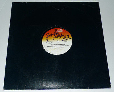 "FUNK FUSION BAND 12"" CAN YOU FEEL IT 1981 US IMPORT RARE WMOT RECORDS 4W902416"
