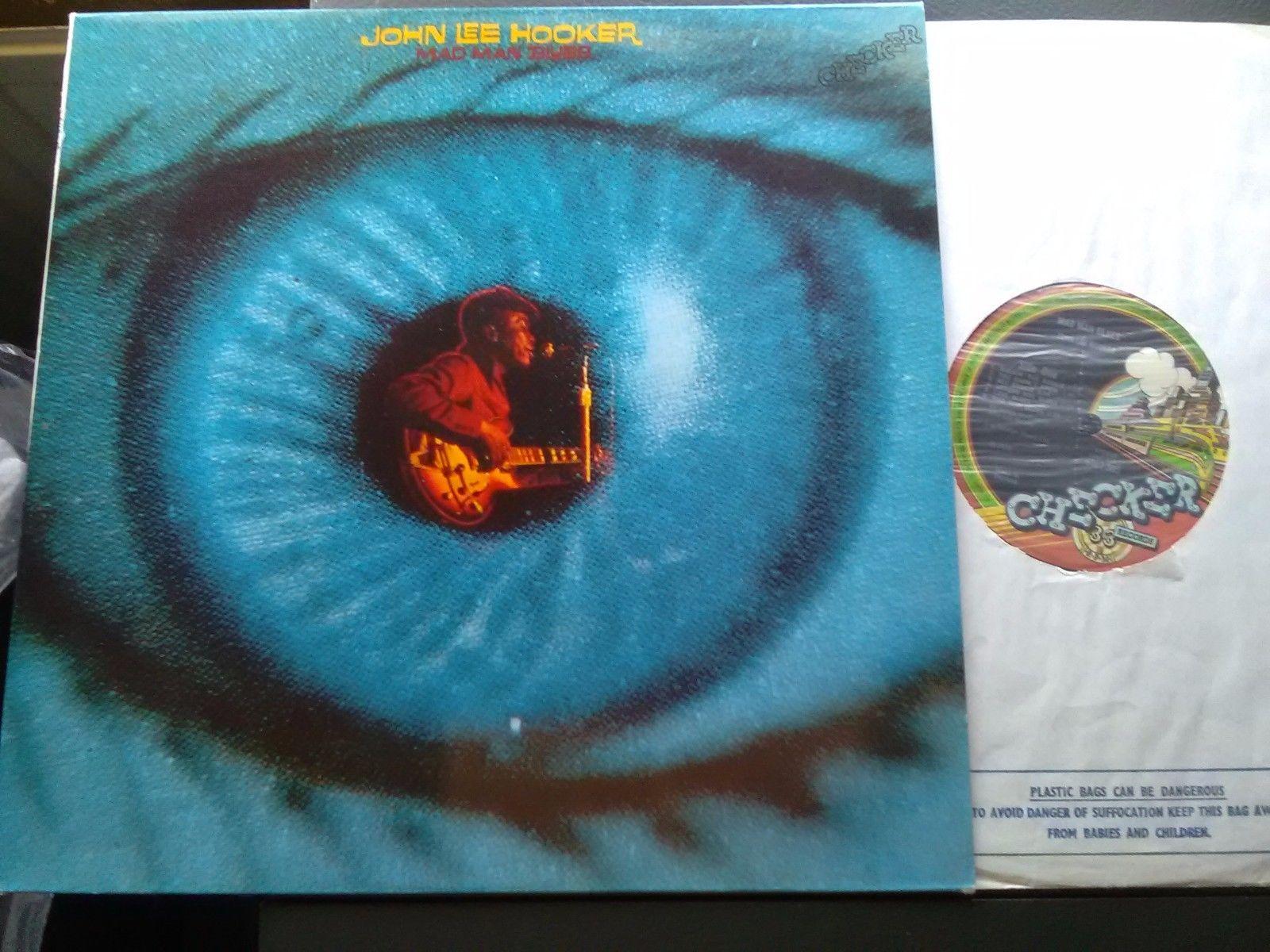 John Lee Hooker/Mad Man Blues.1970 UK Checker Original LP