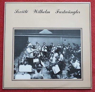 Societe Wilhelm Furtwangler - Franck **Original French SWF 7302 ED1 LP**