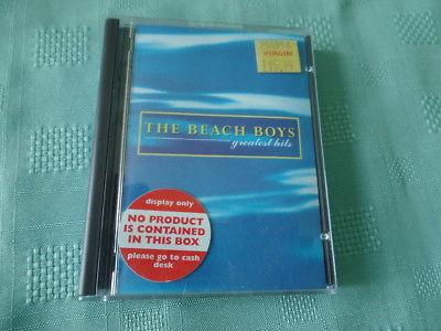The Beach Boys Greatest Hits Minidisc Mini Disc Rare Brian Wilson