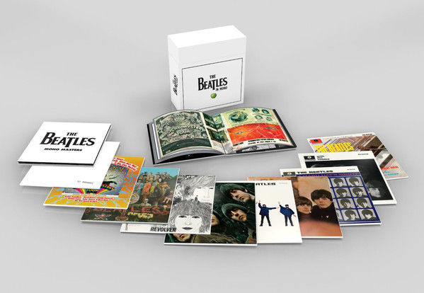 The Beatles In Mono Box Set limited heavyweight vinyl 14xLP + book in box