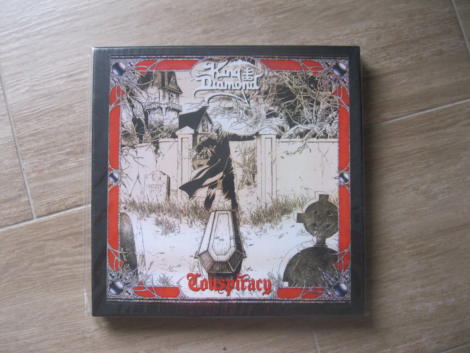 Popsike Com King Diamond Conspiracy Graveyard Box Set Ltd 50